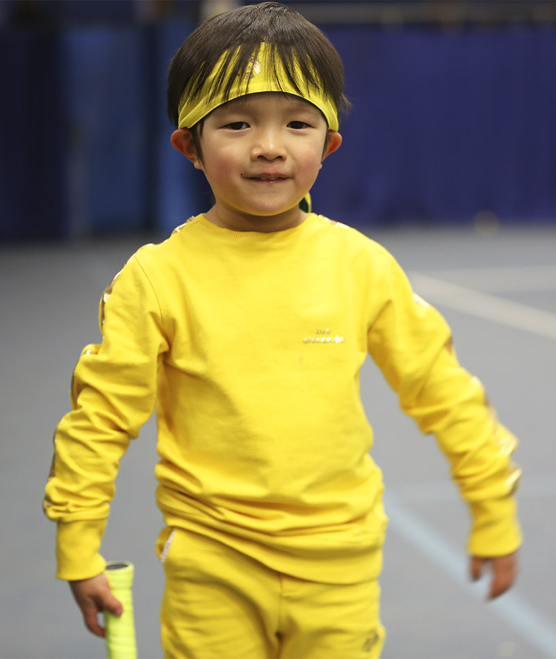 yellow tennis kit for boys zoe alexander uk