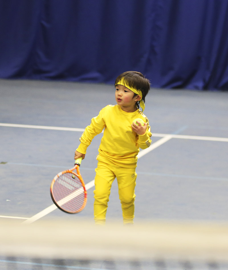 boys tennis long pants zoe alexander yellow us open kit