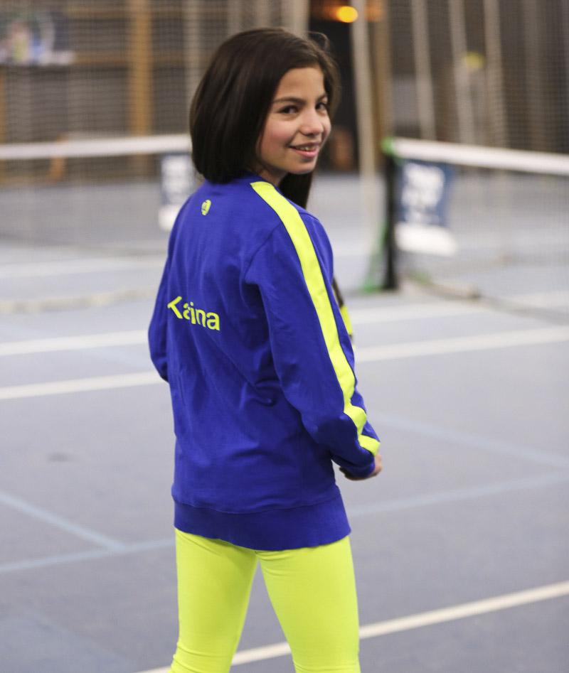 long sleeve training tops tennis girls clothes zoe alexander
