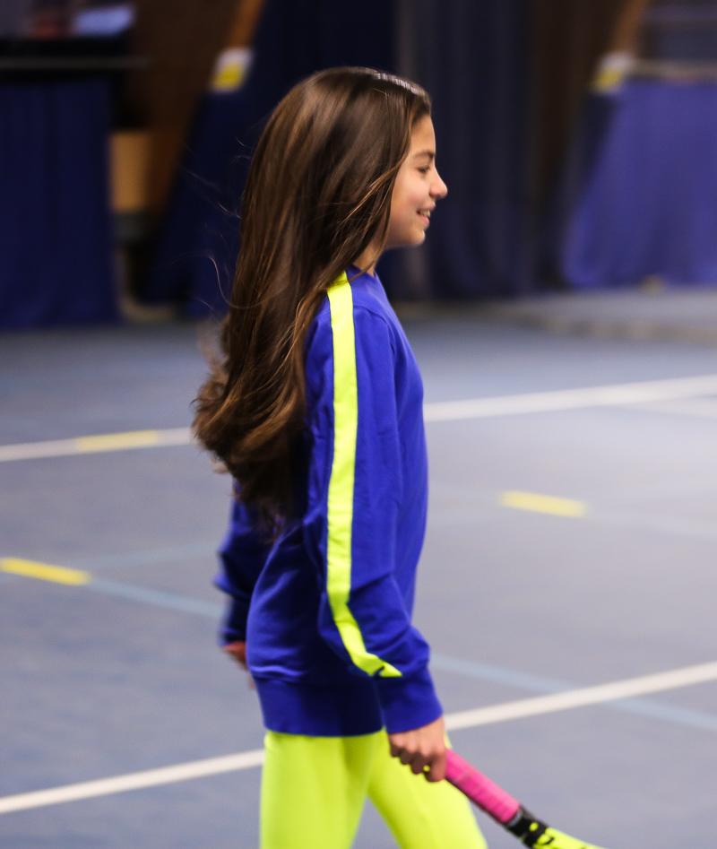 long sleeve training tops girls tennis zoe alexander
