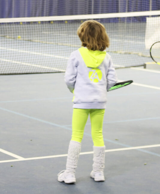 girls white tennis hoodies zoe alexander uk