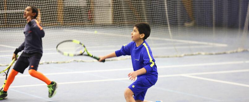 cobalt blue tennis shorts zoe alexander