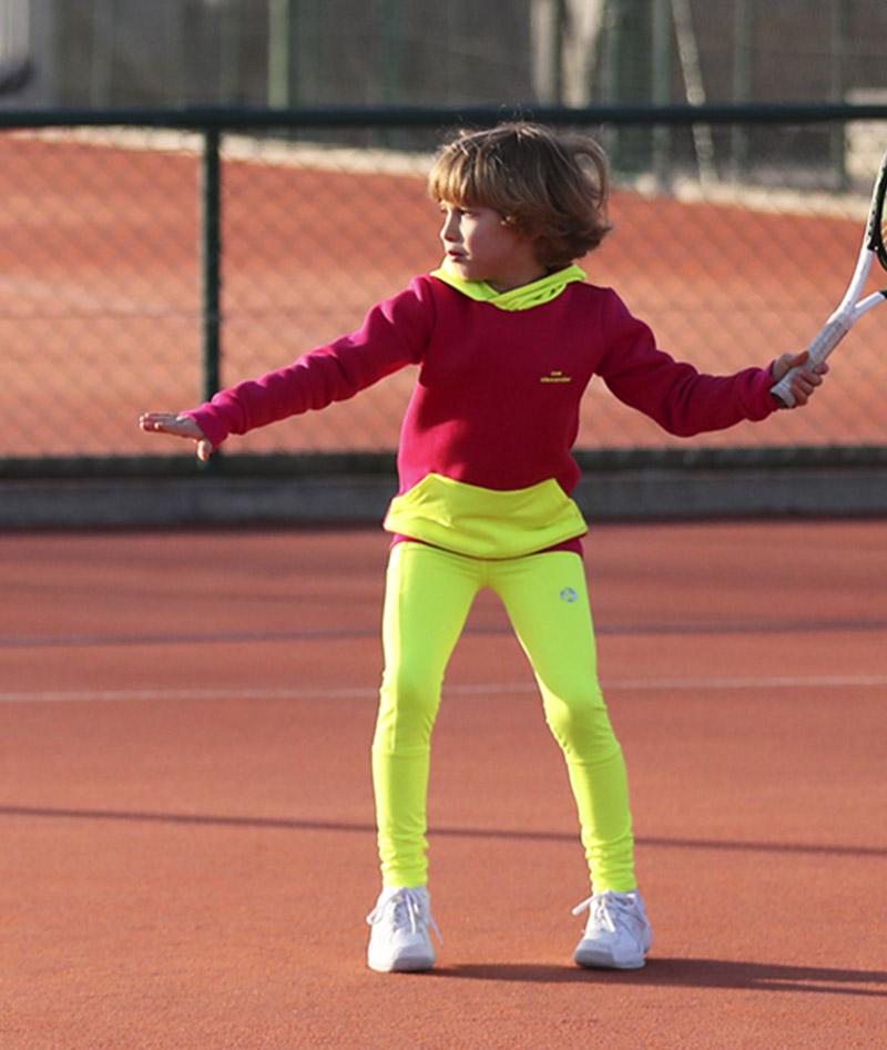 girls tennis hoodie sweatshirt zoe alexander