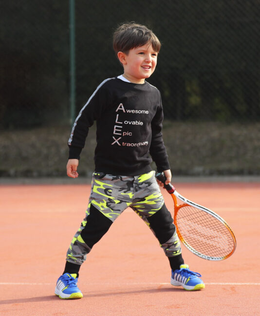 tennis clothes boys Zoe Alexander