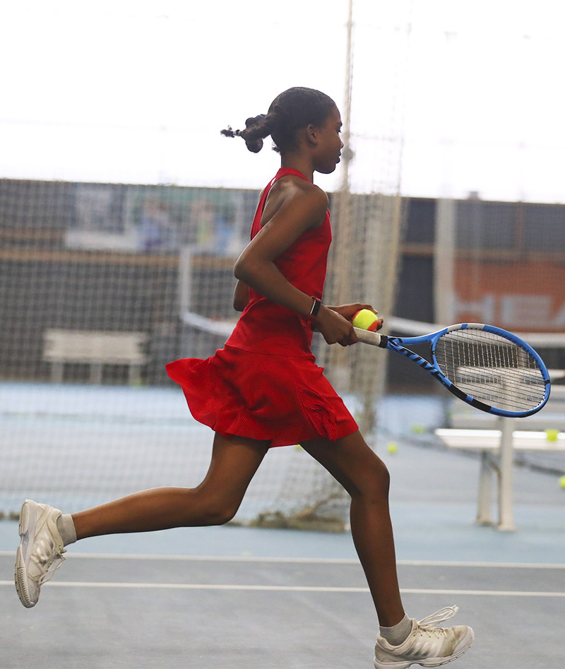 girls red tennis dress zoe alexander uk