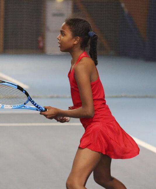 girls red tennis dress zoe alexander uk