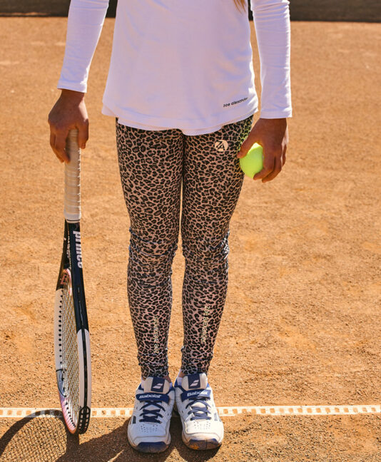 Girls Tennis Leggings Capri Pants Shorts