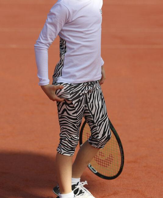 zebra print zoe alexander capri cropped pants uk