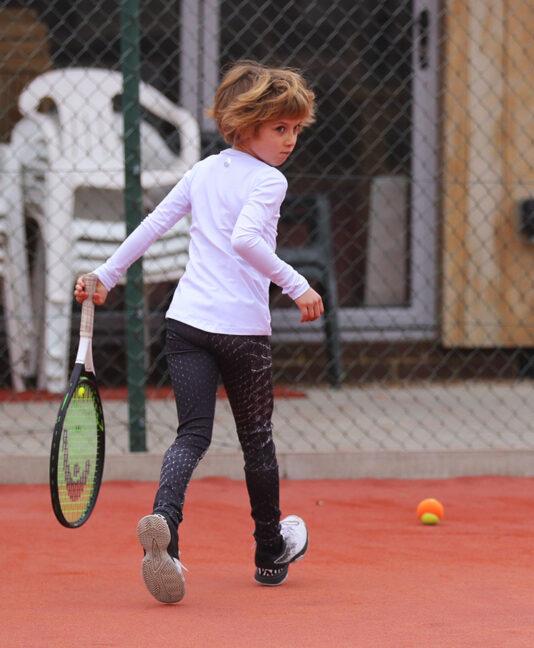 girls long tennis pants crocodile print zoe alexander