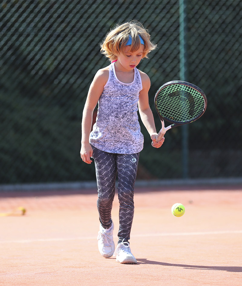 girls tennis leggings crocodile zoe alexander uk