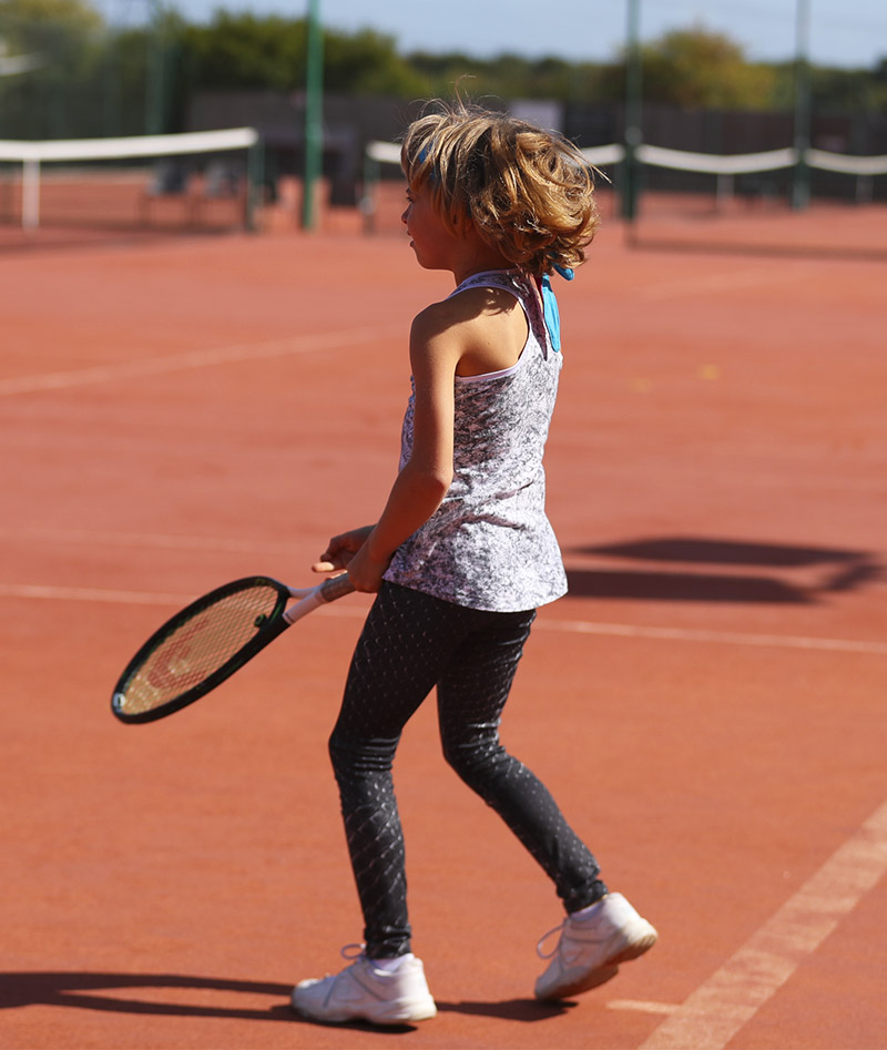girls tennis leggings crocodile zoe alexander uk