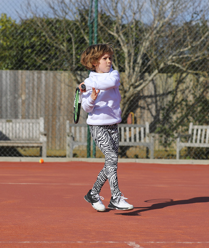 tennis leggings girls long pants zebra print for zoe alexander