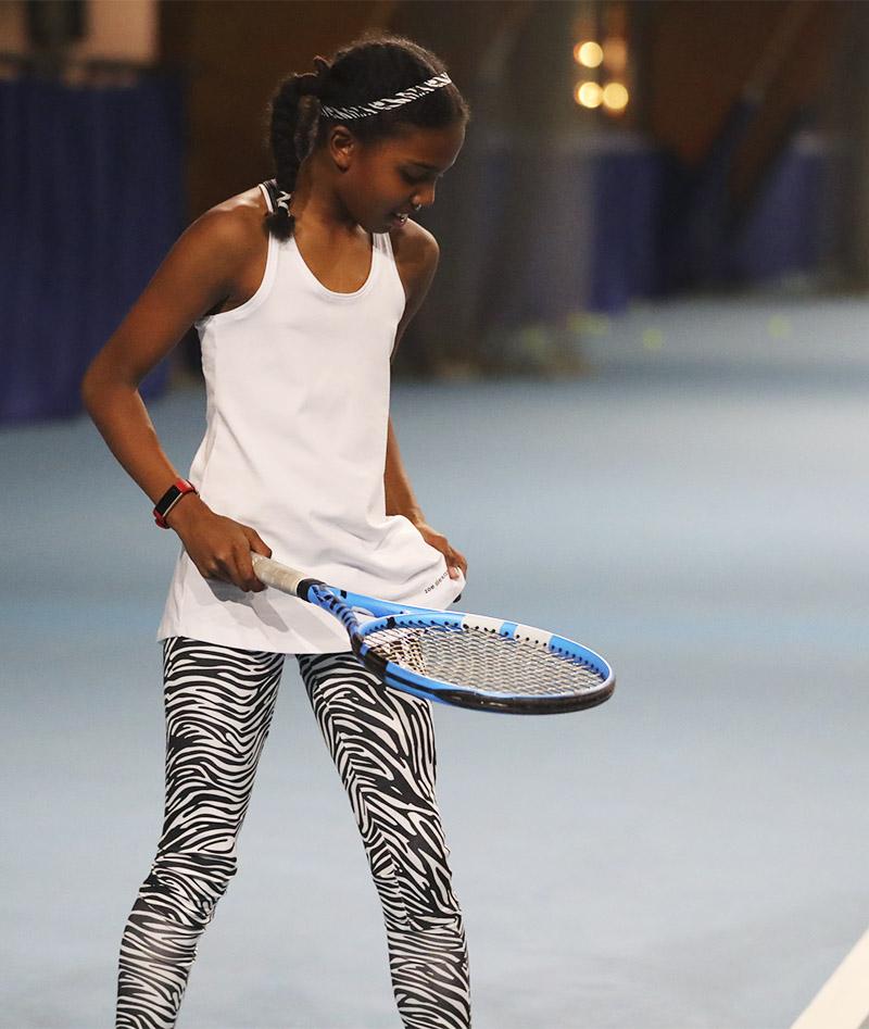 white tennis tank top Bianca Zoe Alexander uk