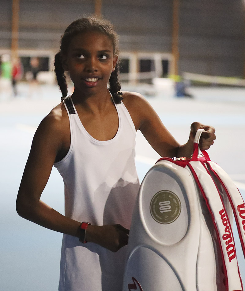 white tennis tank top Bianca Zoe Alexander uk
