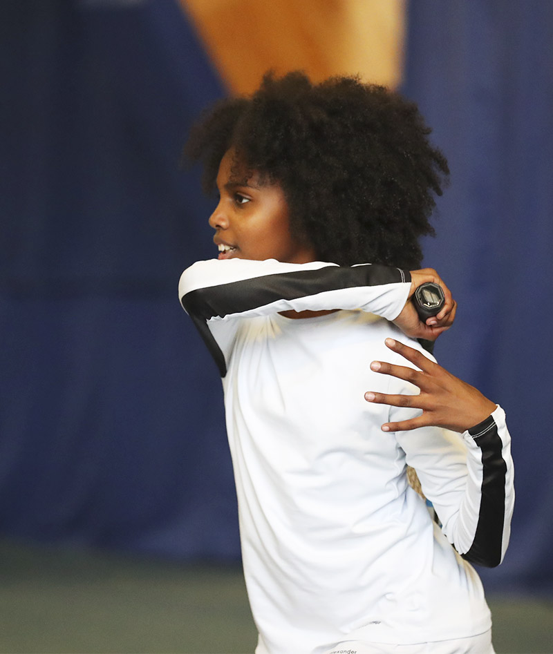 girls white long sleeve tennis top bianca zoe alexander uk