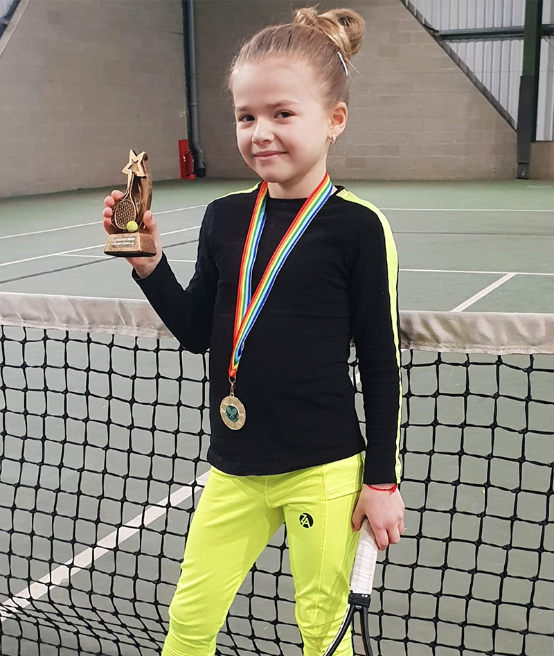TENNIS CLOTHES GIRLS SOPHIA COMP JAN 2019 A 800