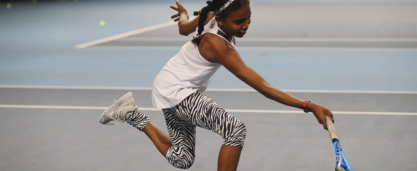 zebra capri pants cropped leggings girls tennis Zoe Alexander UK