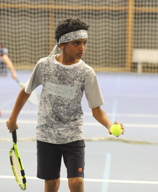 grey awesome boys tennis top Zoe Alexander uk