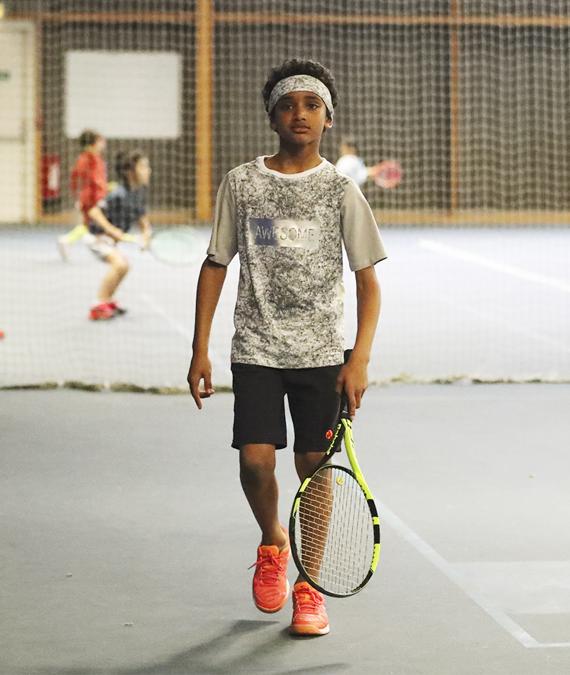 boys tennis top tee shirt Zoe Alexander