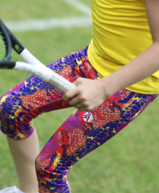 red snakeskin girls cropped leggings capri pants zoe alexander uk