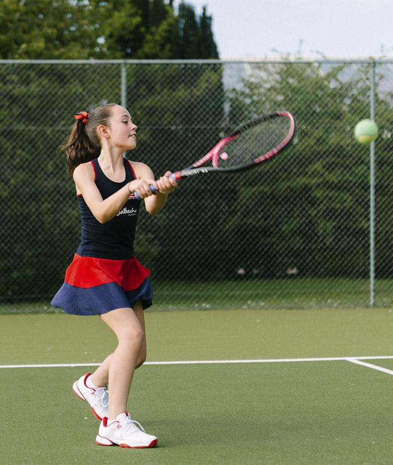 navy tennis dress team gb anya zoe alexander uk