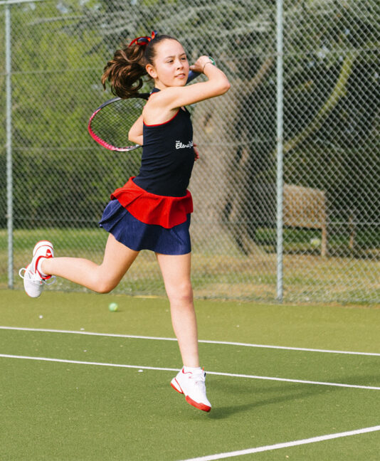 blue tennis dress team gb anya by zoe alexander