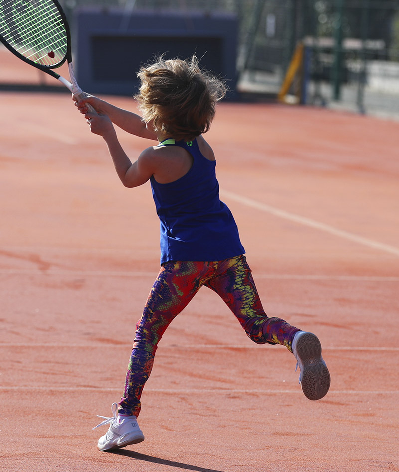 girls tennis leggings ball pocket energy zoe alexander uk