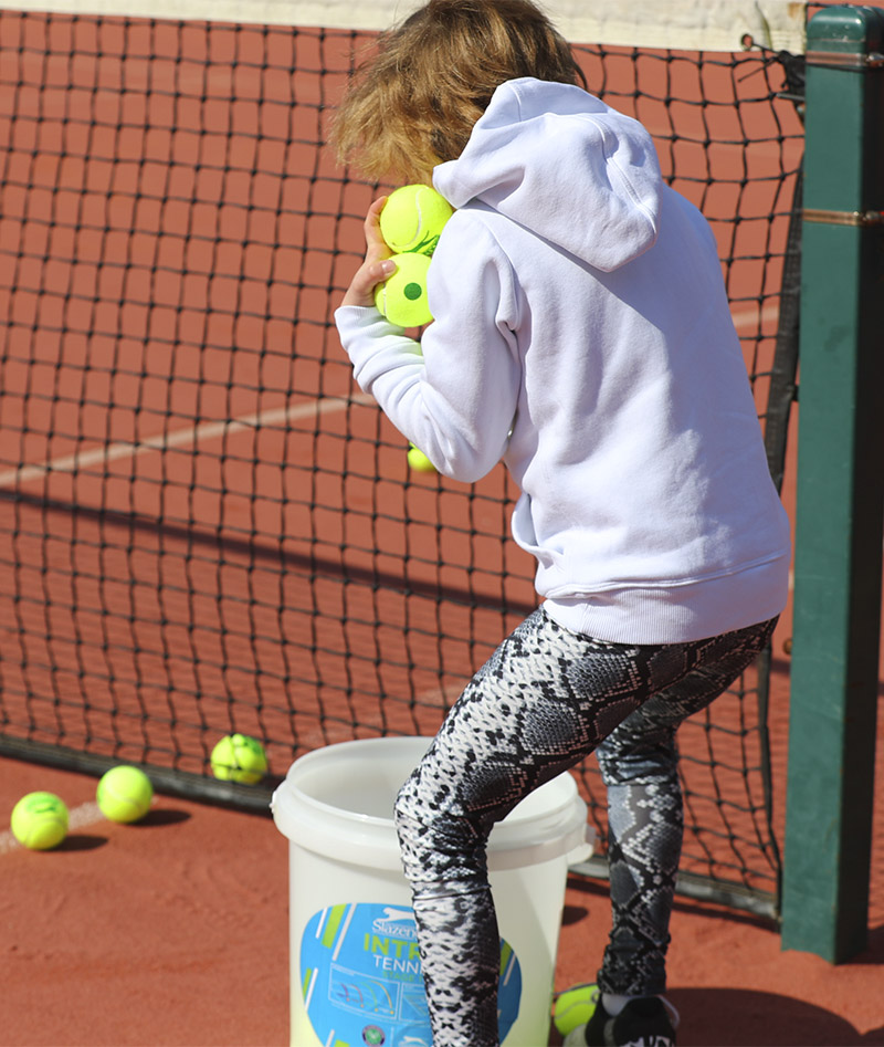 snakeskin print tennis legging for girls zoe alexander uk