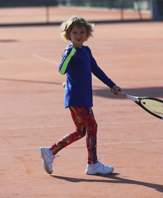 blue tennis training top cool zoe alexander uk
