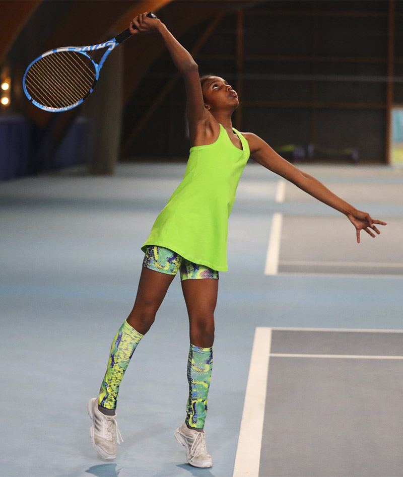 Girls_Tennis_Shorts_Snakeskin_Rainbow