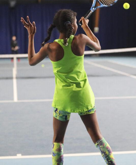 snakeskin tennis shorts Zoe Alexander