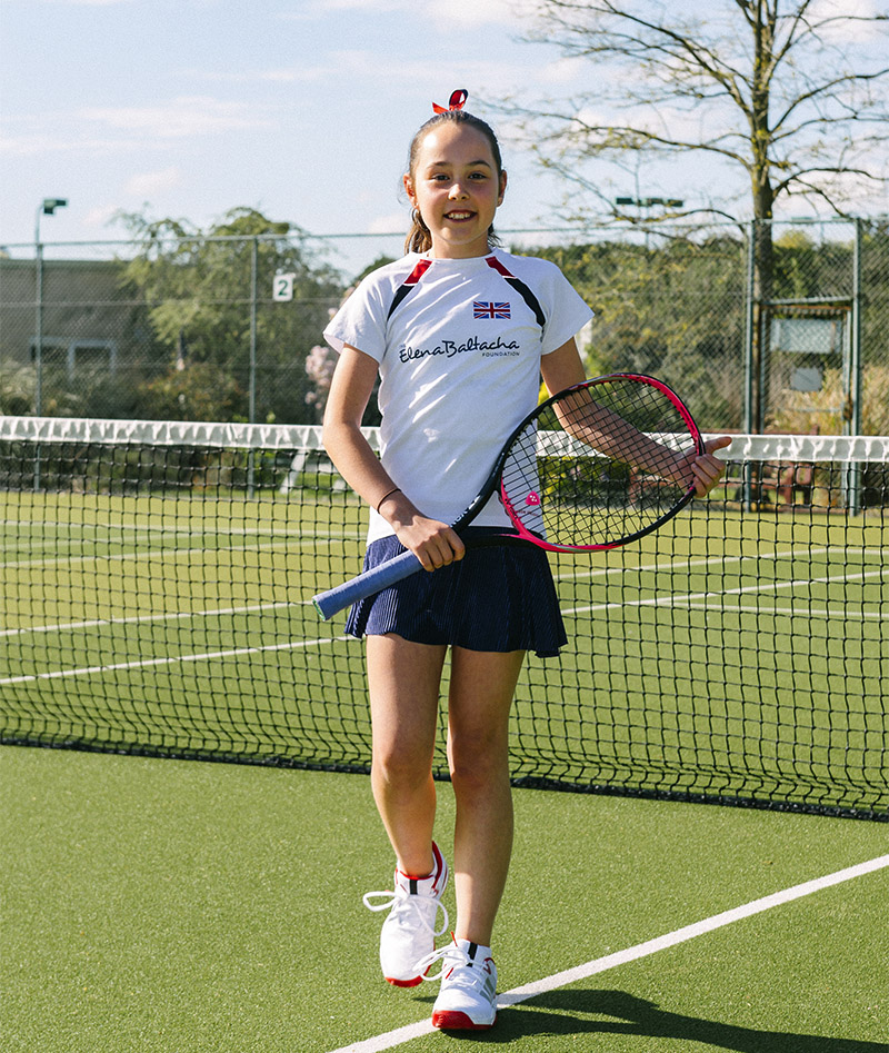 team gb anya girls tennis tee shirt top zoe alexander