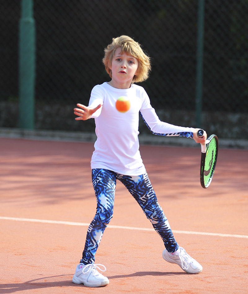 girls white tennis tops long sleeve Zoe Alexander
