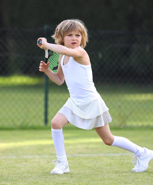 girls white tennis dress julia zoe alexander uk