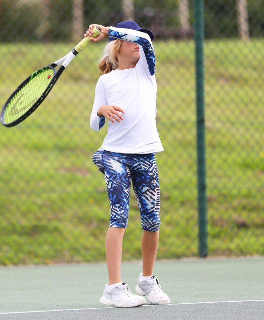 vipa tennis capri pants cropped leggings zoe alexander uk