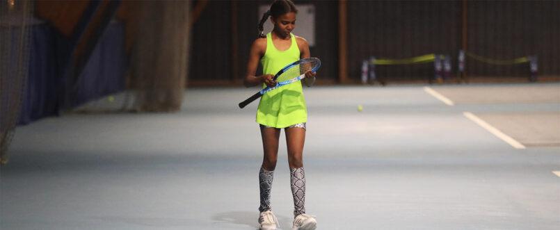 green girls tennis tank top vest Zoe Alexander