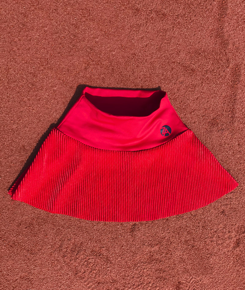 plisse tennis skirts zoe alexander team gb anya