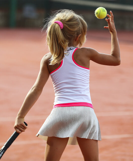 BELLA TENNIS DRESS GIRLS ZOE ALEXANDER UK