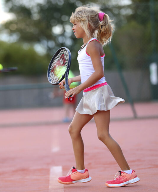 BELLA TENNIS WHITE DRESS GIRLS ZOE ALEXANDER UK