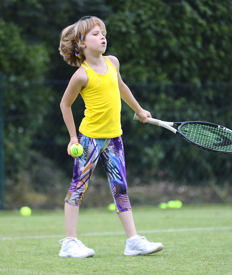 cropped tennis leggings girls viviana vivid zoe alexander uk