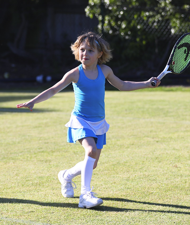 amanda aqua blue tennis dress zoe alexander