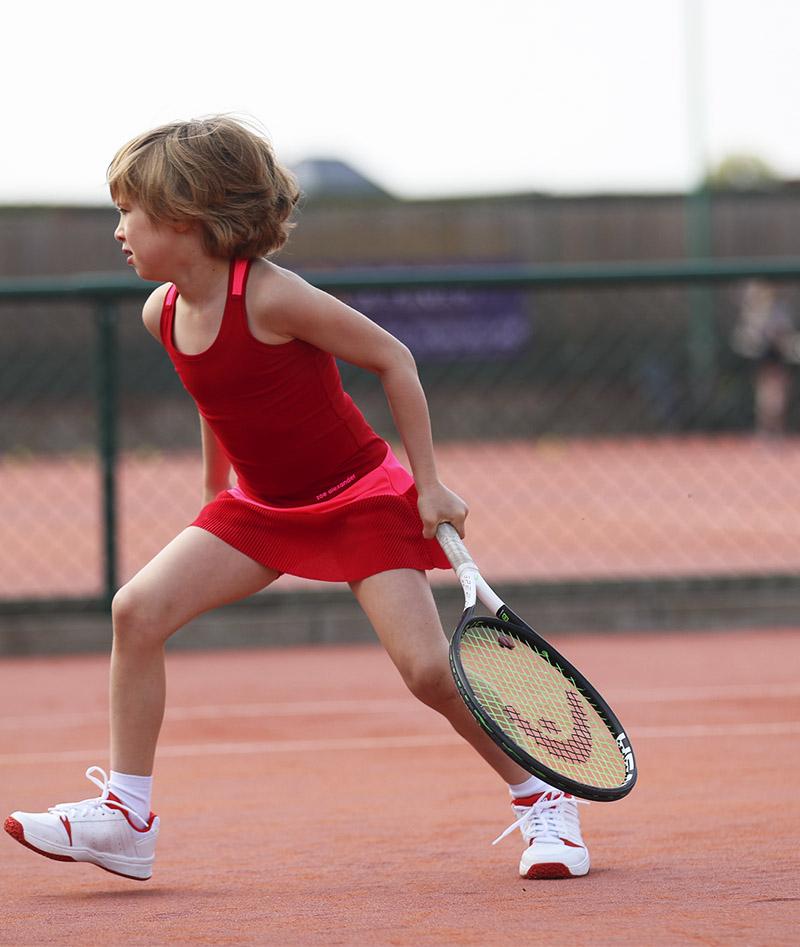 girls red tennis dress zoe alexander
