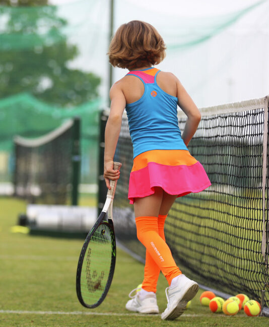 blue chloe tennis dress zoe alexander uk
