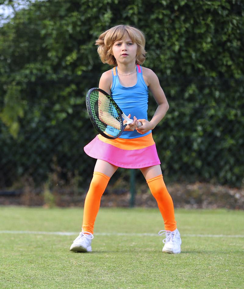 blue chloe tennis dress zoe alexander uk