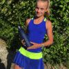 blue tennis dress zoe alexander dayana
