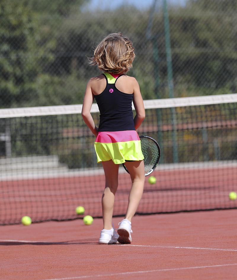 girls navy blue tennis dress isabella zoe alexander uk