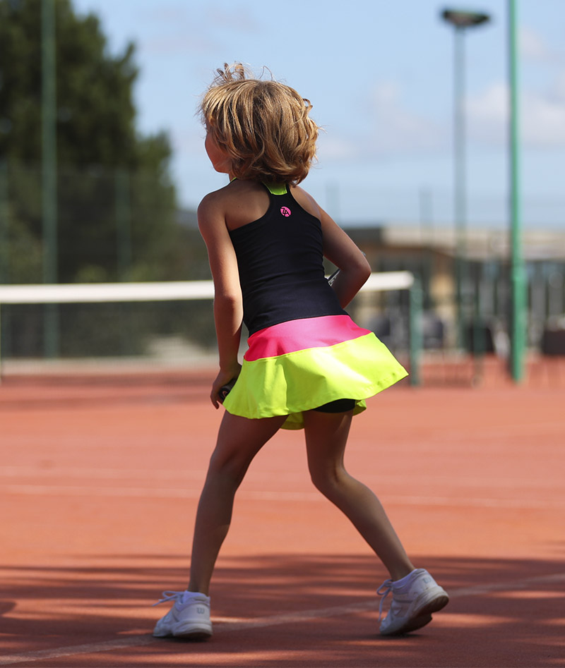 girls navy blue tennis dress isabella zoe alexander uk