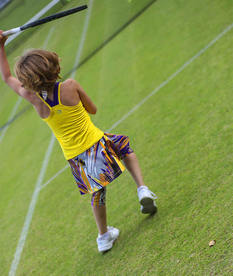 viviana yellow tennis dress zoe alexander uk