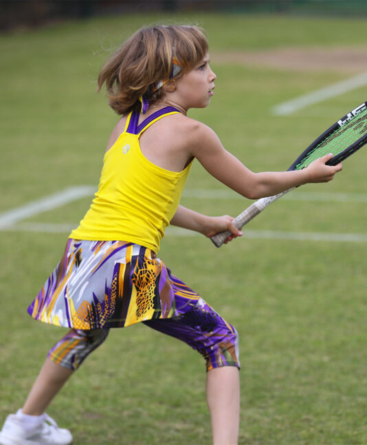 cropped tennis leggings yellow tennis dress zoe alexander viviana vivid