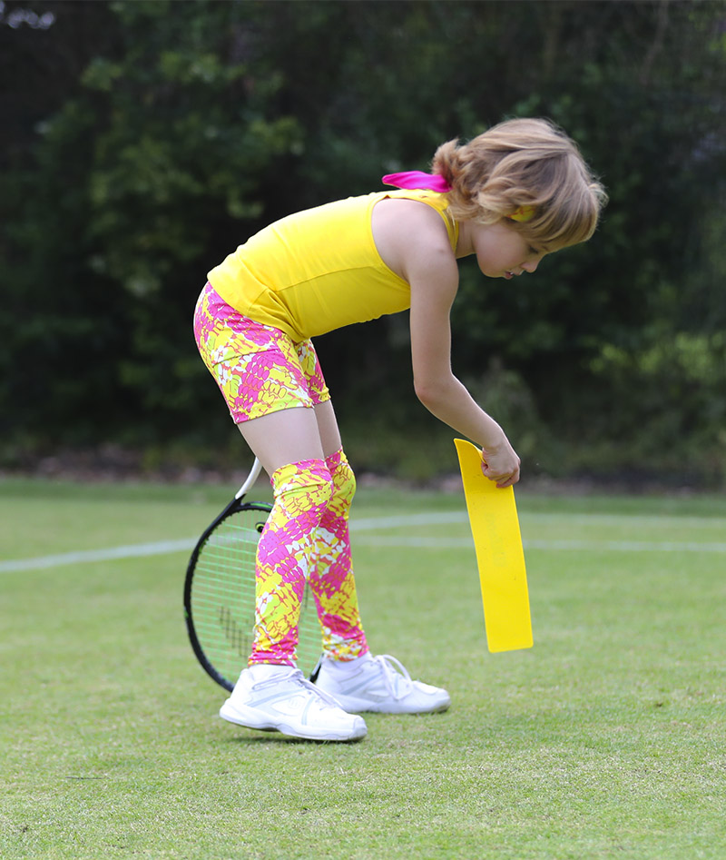 honey yellow pink girls tennis shorts zoe alexander uk